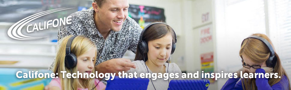 Califone: technology that engages and inspires learners.