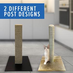 2 Different post designs