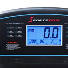 Sportstech F26 professional treadmill with Smartphone App control - pulse belt