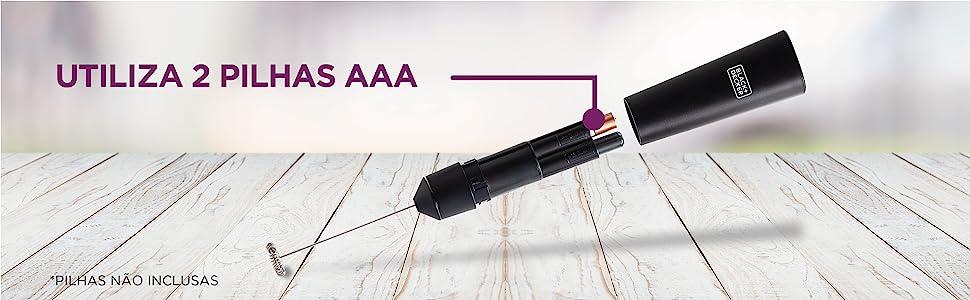 M150 - Utiliza 2 Pilhas AAA