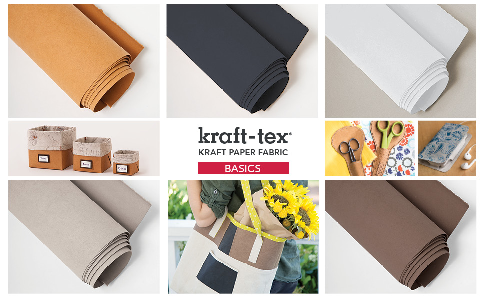 Basic kraft-tex, neutral colors