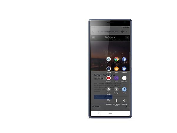 Sony Xperia 10 Plus Smartphone (16, 5 cm (6, 5 Zoll) 21: 9 Full HD+  Display, 64 GB Speicher, Dual-SIM, Split-Screen, Android 9) Schwarz