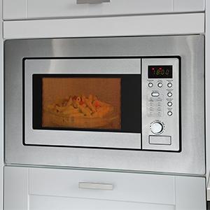 bomann mwg 2215 eb einbau mikrowelle mit grill 20 liter 5 mikrowellen leistungsstufen 1. Black Bedroom Furniture Sets. Home Design Ideas