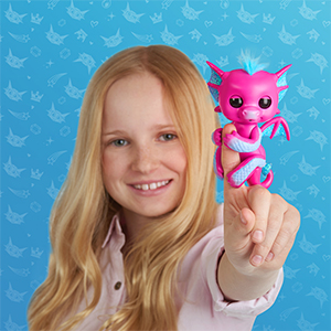 Fingerlings, Fingerlings dragons, interactive toy