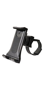Sunny Health & Fitness Universal Bike Mount Clamp Holder for Phone and Tablet