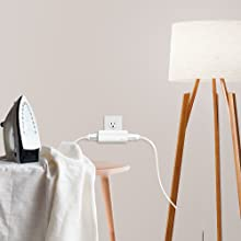 Two Smart Plugs in One
