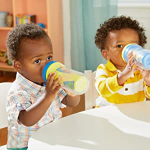 The First Years 2 Piece Insulated Sippy Cup Madagascar