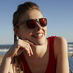 Opinioni per Polaroid Occhiali da sole P7334 Rettangolari