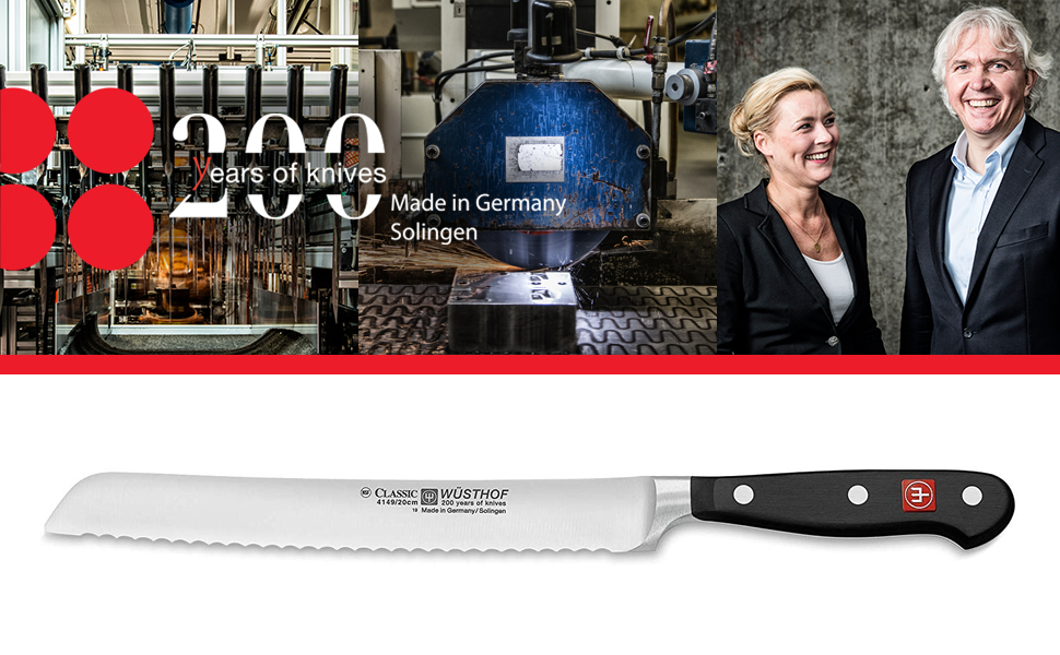 200 years of knives classic bread knife