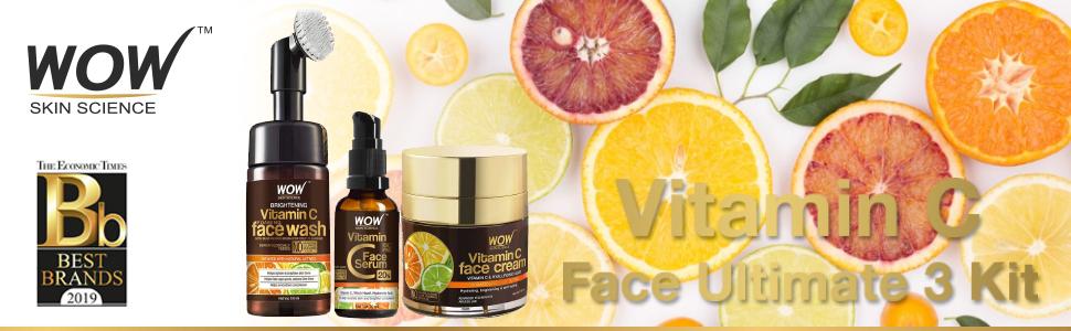 vitamin c face ultimate 3 kit