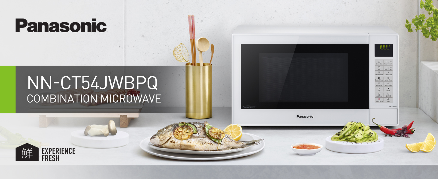 3-in-1 Combination Microwave Oven - NN-CT54JWBPQ