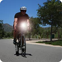 day visible flash usb rechargeable bike light