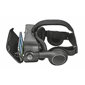 Trust Urban Exora - Gafas de Realidad Virtual y Auriculares para ...