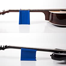 neck support for electric and acoustic guitars