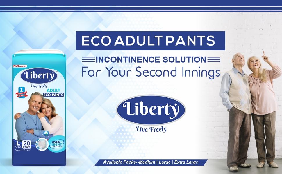 Liberty Eco Adult Diaper Pants Unisex