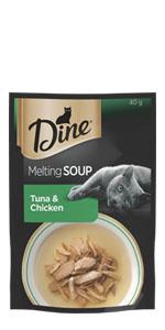 Dine Wet Cat Food Soup