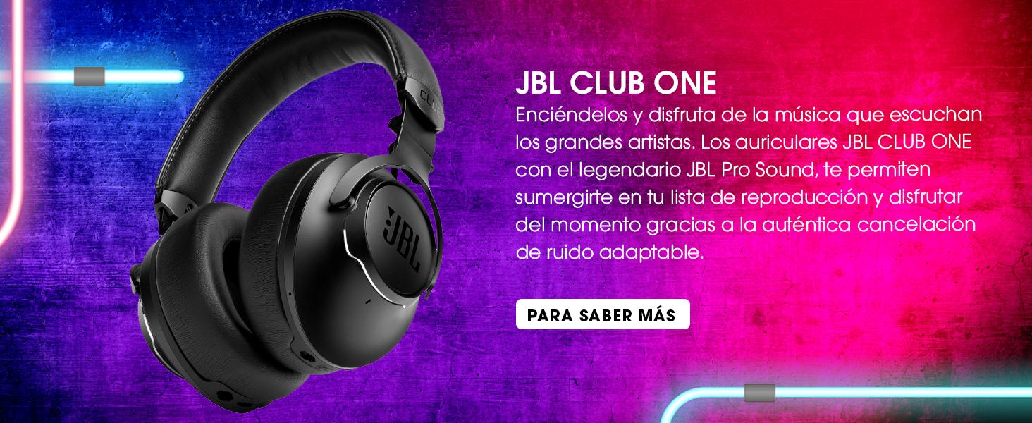 JBL CLUB ONE Auriculares bluetooth OverEar e inalámbricos con ...