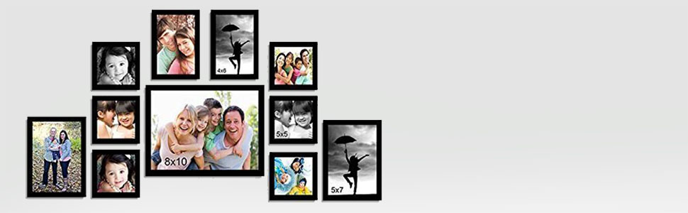 4d9cd81a5 Buy ART STREET - Memory Wall Photo Frame - Set of 11 Individual ...