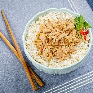 thai chilli tuna bowl, infusions