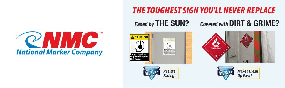 NMC DL105TB10 Inhalation Hazard 2 Dot Placard Sign National Marker Company