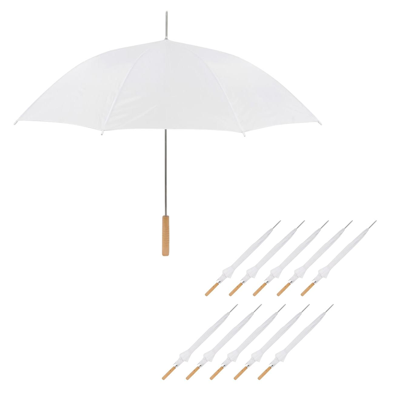 Amazon.com: Anderson Umbrella UM-35-WHITE-10 Wedding