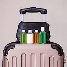 Travel Liquid Toiletry Bottles from Vivaplex