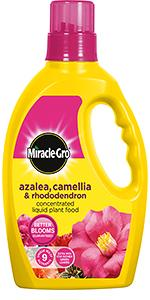 Miracle-Gro Azalea, Camellia & Rhododendron Concentrated Liquid Plant Food
