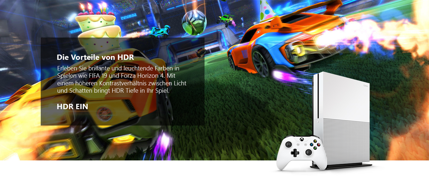 Xbox One S 1TB - Rocket League Bundle
