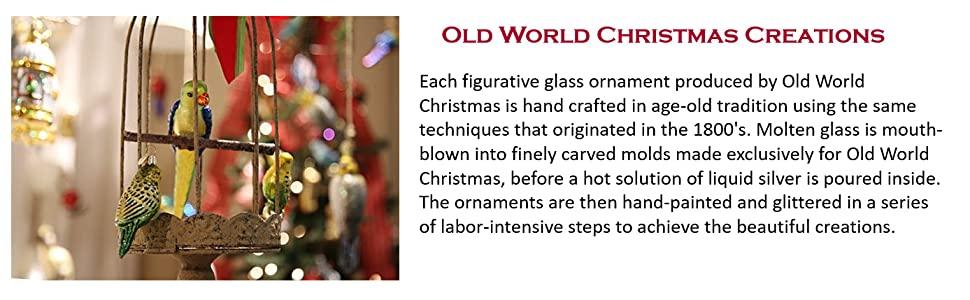 Old World Christmas Creations