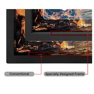 Marco especial bisel bisel sin bisel modo de visualización zeroflicker entrada retardo azul reducción zowie monitor juegos