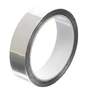 65-300 degree F Performance Temperature 3M 425 1.5 x 1.25-100 Shiny Silver Aluminum//Acrylic Adhesive Tape Aluminum Foil Tape 1.5 width Rectangles 0.0046 Thick 1.25 length Pack of 100
