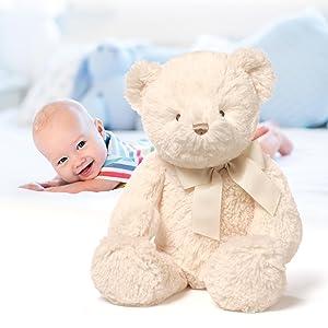 Gund My First Teddy Large Cream Plush Soft Toy Baby Gift 45.5cm 4056250 Age 0+