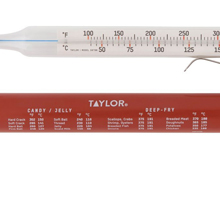 temperature, thermometer, kitchen, candy, deep fry, cooking, kitchen, taylor, tube, adjustable