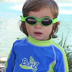 Banz sunglasses for toddlers and kids