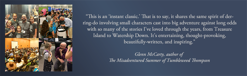 Glenn McCarty quote about The Green Ember Series.