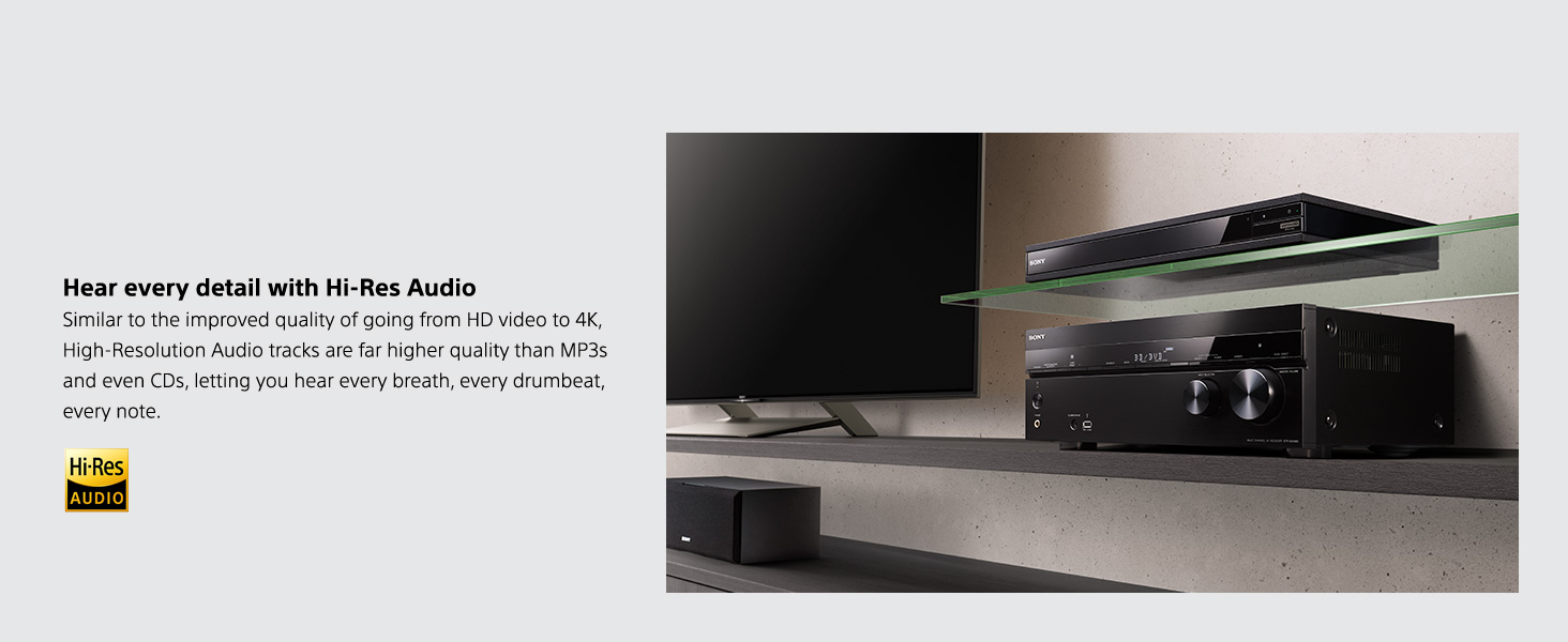 Sony UBP-X800 4K Ultra HD Blu-ray Player - Best bang for the
