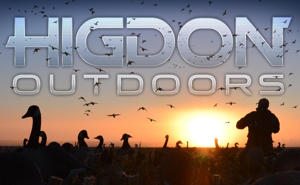 standard size Higdon Outdoors Duck Goose Waterfowl Hunting Decoy Decoys Motion Foam Filled Pulsator