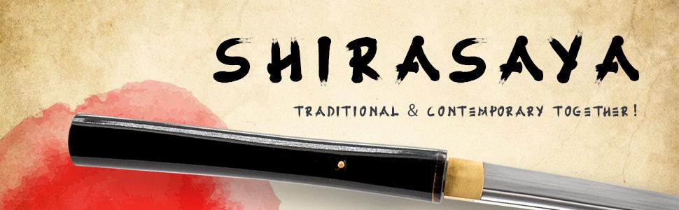 shirasaya samurai sword