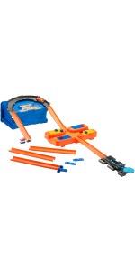 Hot Wheels - Track Builder Set delle Acrobazie