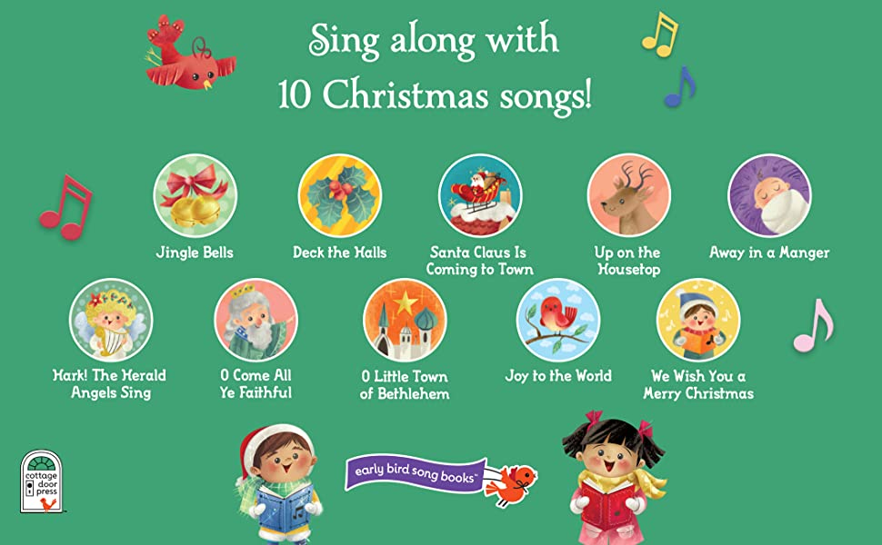 Amazoncom Christmas Songs Interactive Childrens Sound