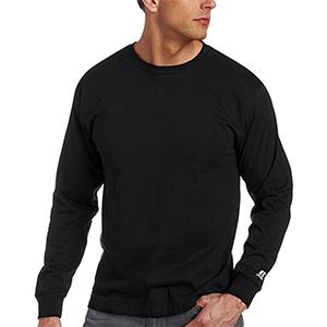 Amazon.com: Russell Athletic Men's Essential Cotton Long Sleeve T ...