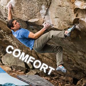 comfort climbing shoes