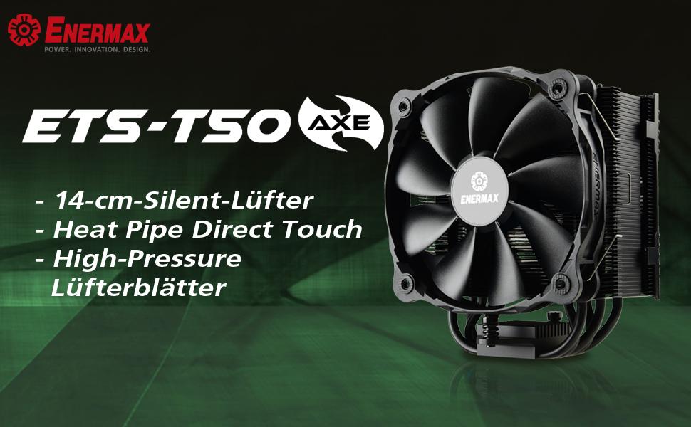 Enermax Cpu Kühler T50 Axe Pressure Computer Zubehör