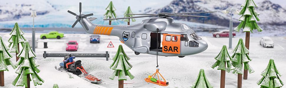 SIKU Transporthubschrauber Hubschrauber