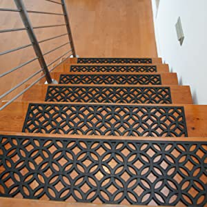 rubber stair covers