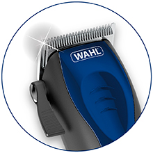 extreme power ultra quiet wahl clipper self-cut pro compact design smaller remmington andis philips