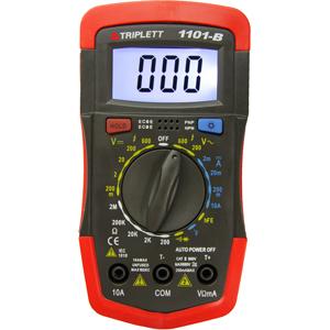 C/DC Voltage, DC Current, Resistance, Continuity, Diode Test, Temperature