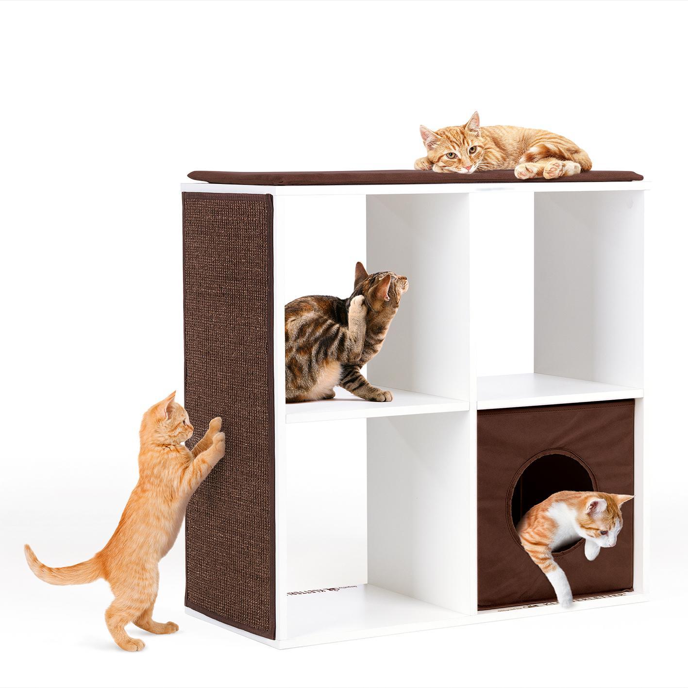 kletterletter 03955 katzenkratzbaum w rfeloase grosser kratzbaum f r katzen sisal teppich. Black Bedroom Furniture Sets. Home Design Ideas