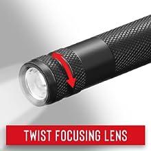 Twist Focusing Lens