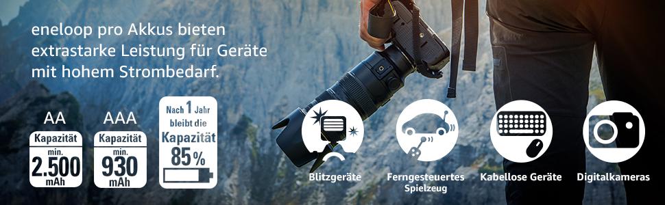 eneloop pro Akku;eneloop pro Batterie;batterie für Blitzgeräte;Spielzeug;Digitalkameras;Batterie;